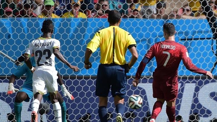 رونالدو يسجل أخيرا والبرتغال وغانا تودعان المونديال بأداء خجول