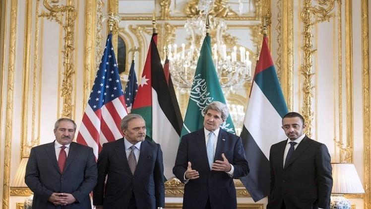 كيري يحث السعودية والأردن والإمارات على مساعدة العراق