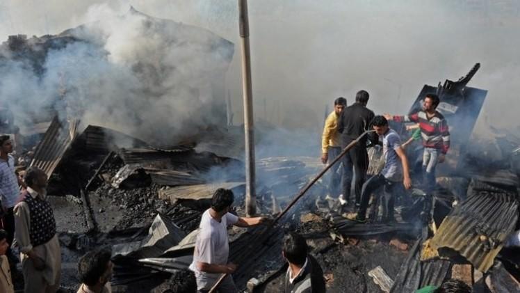 مقتل 14 شخصا بانفجار  أنابيب غاز في الهند