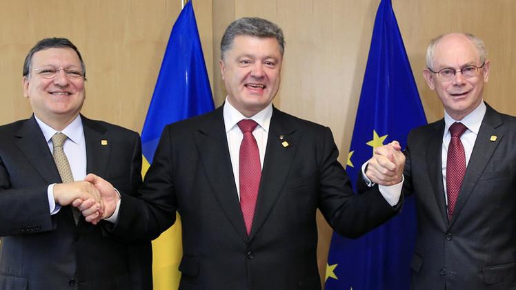 الاتحاد الأوروبي يوقع اتفاقيات شراكة مع أوكرانيا وجورجيا ومولدوفا
