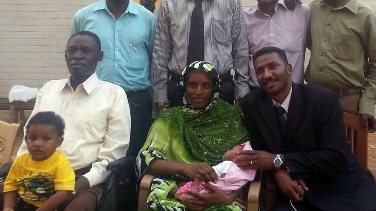 السودانية المسيحية تلجأ إلى السفارة الأمريكية