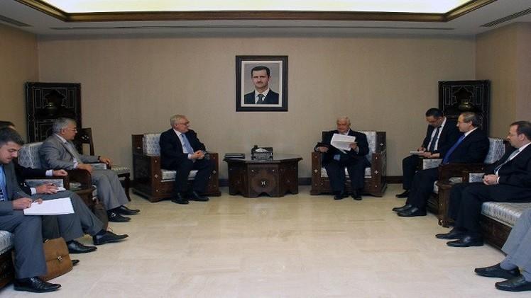ريابكوف: لا بديل عن العملية السياسية لحل الأزمة في سورية