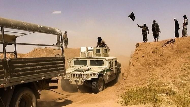 القوات العراقية تتقدم  باتجاه تكريت
