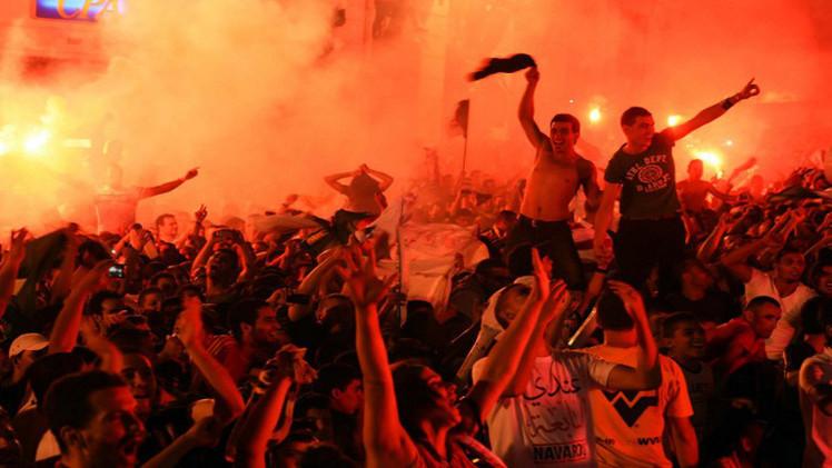 قتيلان في احتفالات الجزائر بالتأهل للدور الثاني من كأس العالم