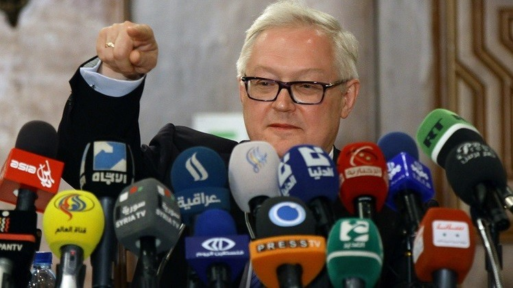 ريابكوف : حان الوقت لانضمام إسرائيل إلى اتفاقية حظر الأسلحة الكيميائية