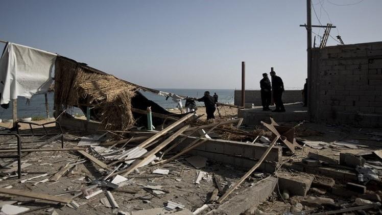 غارات إسرائيلية جديدة على قطاع غزة
