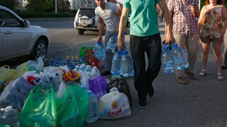 وزارة الطوارئ الروسية ترسل مساعدات إنسانية للأوكرانيين في جنوب روسيا