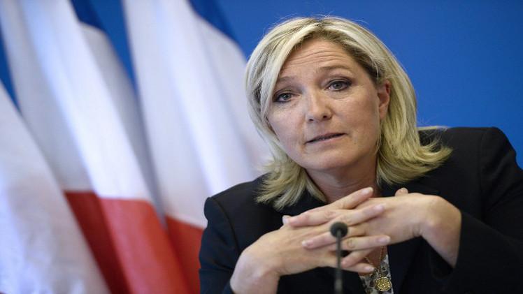لوبان تطالب بوضع حد لازدواجية الجنسية في فرنسا