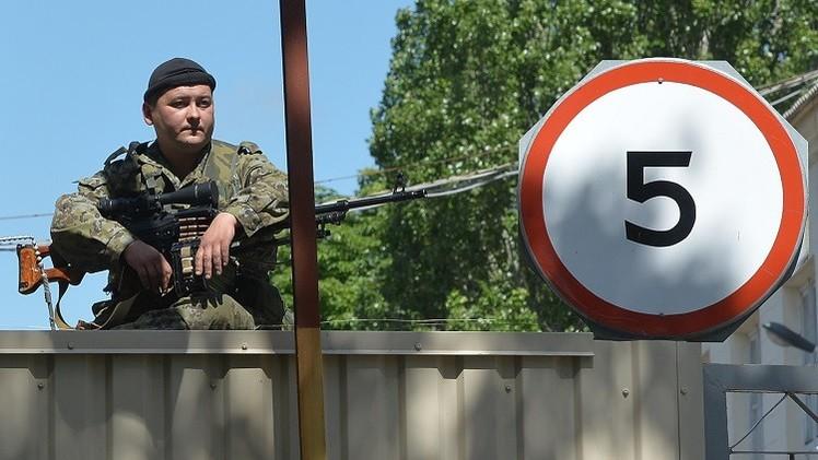 قوات الدفاع الشعبي في دونيتسك تسيطر على قاعدة للدفاع الجوي
