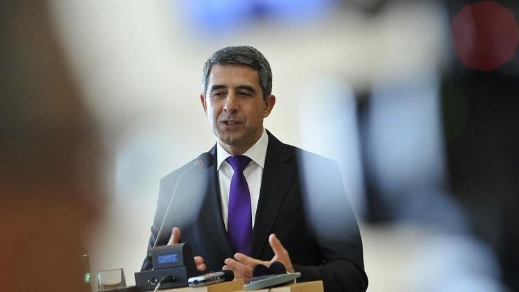 الرئيس البلغاري ينوي حلّ البرلمان وتعيين حكومة مؤقتة