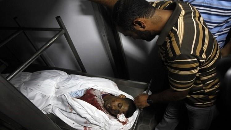 مقتل فلسطيني وإصابة آخر في قصف إسرائيلي على قطاع غزة