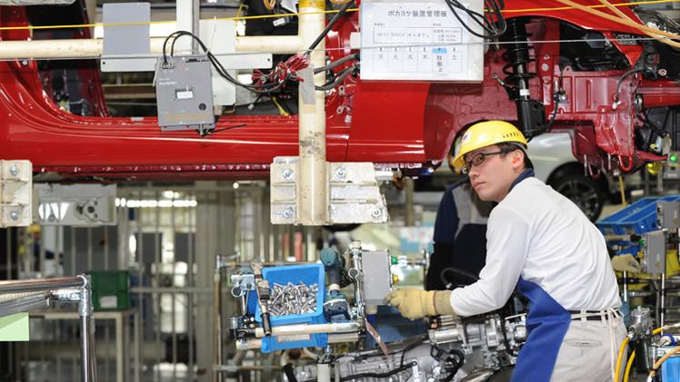 ارتفاع الإنتاج الصناعي الياباني بنسبة 0.5% في مايو