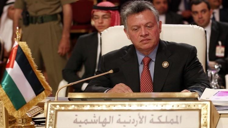 العاهل الأردني يحذر من خطورة أزمة العراق على المنطقة