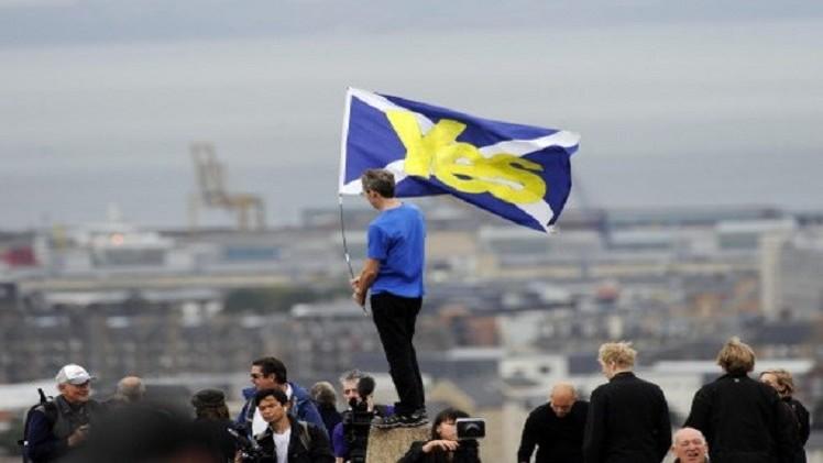 ممثلو اللجنة الانتخابية المركزية الروسية سيراقبون استفتاء استقلال اسكتلندا
