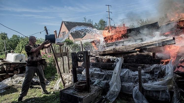 استمرار المواجهات جنوب شرق أوكرانيا عشية انتهاء الهدنة