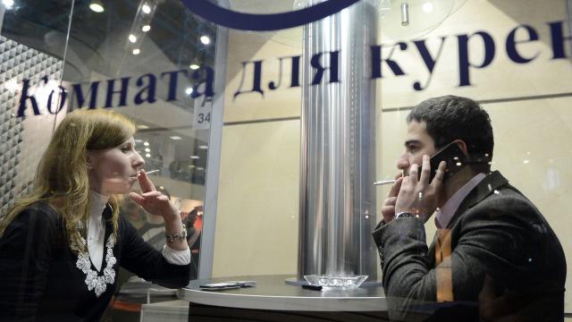 روسيا تحظر التدخين في الأماكن العامة