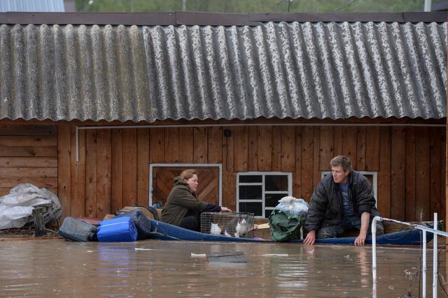 فيضانات عارمة تجتاح سيبيريا