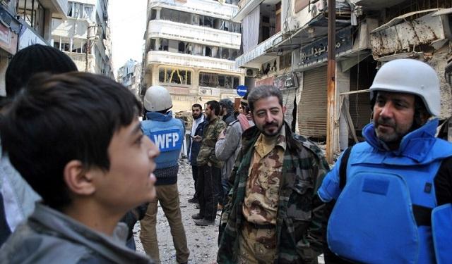 لافروف: لا يجوز تسييس القضية الإنسانية في سورية واستغلالها للمطالبة بالتدخل الخارجي