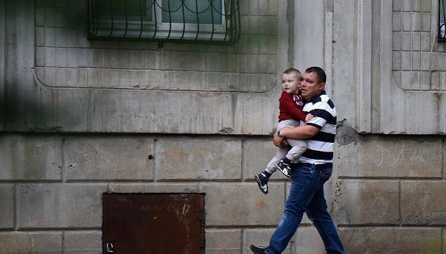 تزايد تدفق اللاجئين من جنوب شرق أوكرانيا الى الأراضي الروسية