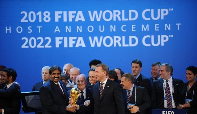 الفيفا ينشر نتائج التحقيقات في ملفي الاستضافة لمونديالي روسيا وقطر بعد المباراة النهائية للمونديال
