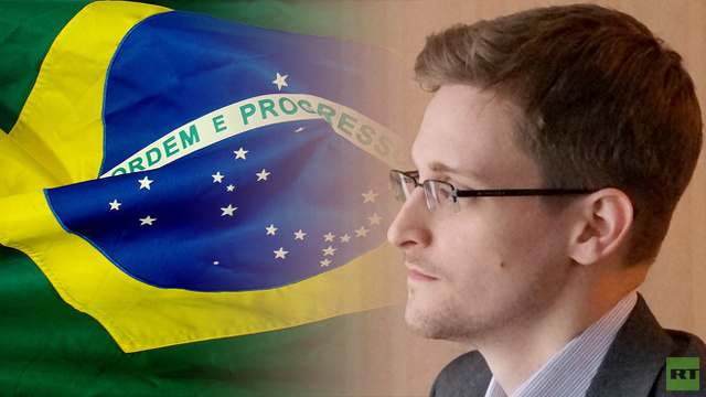 البرازيل تعلن أنها لم تتلق أي طلب لجوء من سنودن