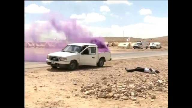 بالفيديو.. تدريبات عسكرية أردنية إماراتية قرب عمّان على إزالة آثار الكيميائي