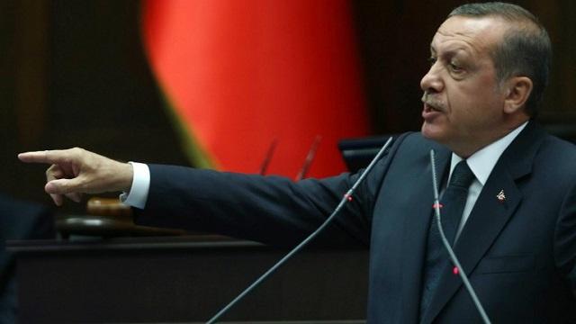 أردوغان يتهم الصحافة الأجنبية بـ
