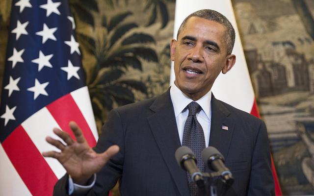 أوباما: حريصون على العمل مع مصر السيسي