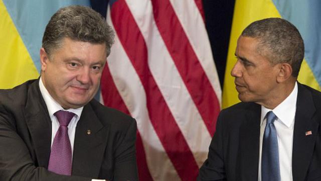 أوباما يلتقي بوروشينكو في وارسو لتأكيد دعم واشنطن لسلطات كييف