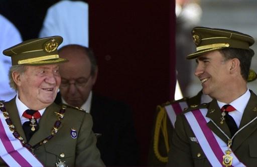 الأمير فيليب يتسلم العرش الإسباني من والده بعد 18 يونيو