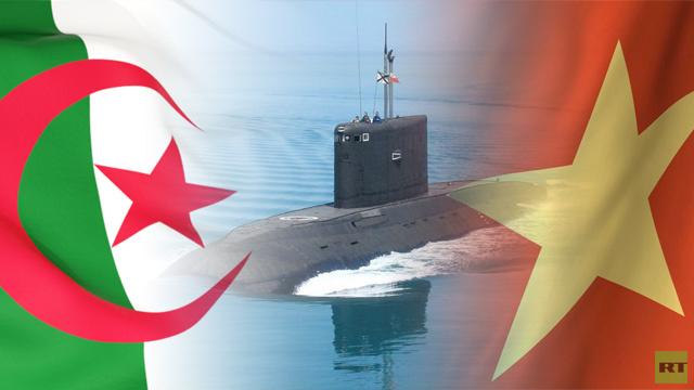 إنشاء مراكز لصيانة الغواصات روسية الصنع في الجزائر وفيتنام (فيديو)