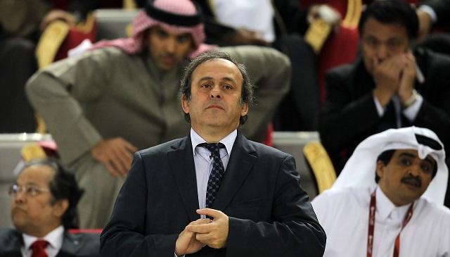 بلاتيني يدافع عن قرار منح مونديال 2022 لقطر ولا يستثني اختيار بلد آخر