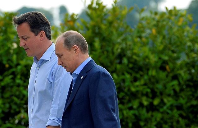 لقاء بوتين وكاميرون يتركز على الأزمة الأوكرانية