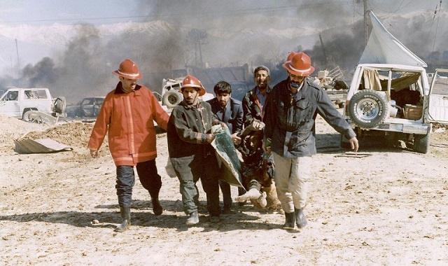 قتلى وجرحى باصطدام قطارين شمال إيران