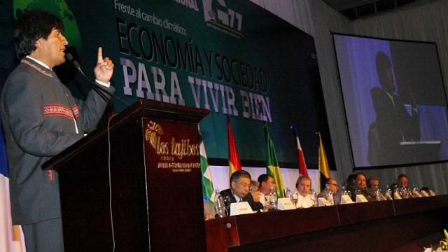 رئيس بوليفيا يودّ رؤية روسيا في مجموعة الـ 77