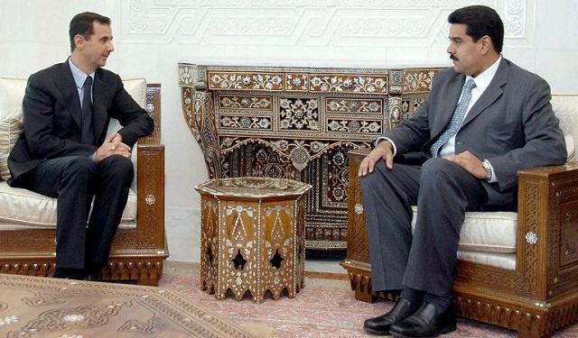 الرئيس الفنزويلي يهنئ نظيره السوري بالفوز في الانتخابات
