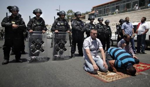 اسرائيل ترفع حالة التأهب في القدس تحسبا لتظاهرات عقب صلاة الجمعة