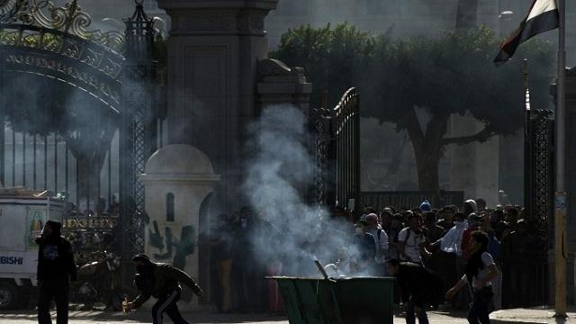 مواجهات بين قوات الأمن وطلاب الإخوان في مصر