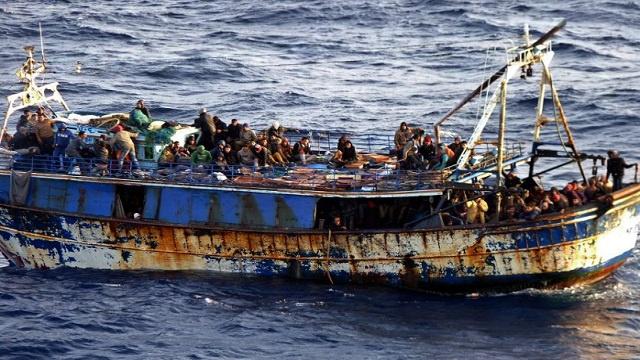 غرق قارب 60 مهاجرا أفريقيا قبالة السواحل اليمنية