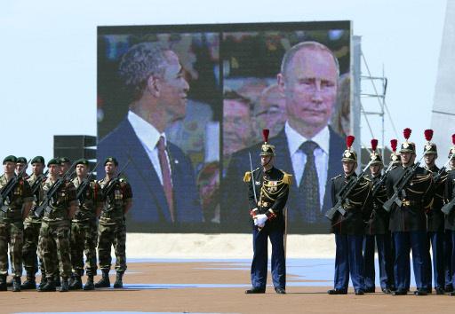إحياء ذكرى إنزال النورماندي ضد النازيين.. والأزمة الأوكرانية في الصدارة
