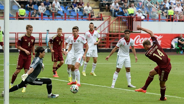 روسيا تحقق فوزا معنويا على المغرب قبل مونديال 2014 (فيديو)