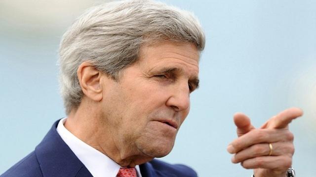 كيري: روسيا تستطيع تجنب عقوبات جديدة