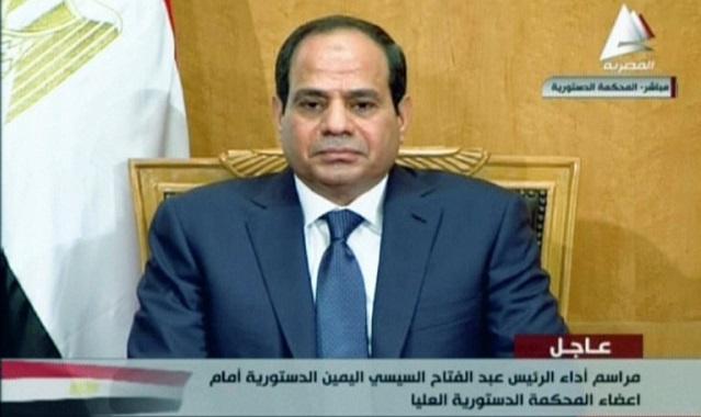 السيسي: أنا رئيس لكل المصريين بلا تفريق ولا اقصاء