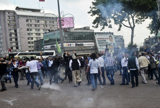 مقتل متظاهرين كرديين في اشتباكات مع الأمن جنوب شرق تركيا
