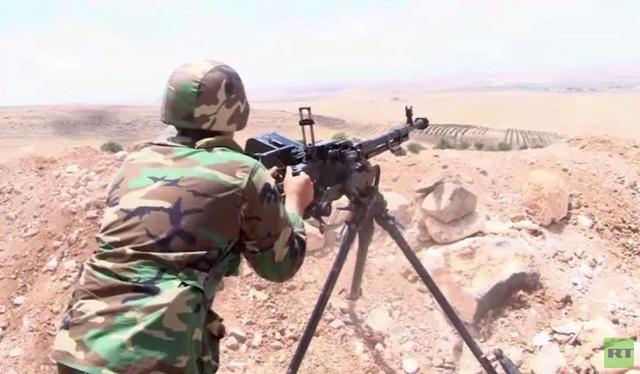 كاميرا RT ترافق تقدم الجيش السوري في ريف حلب الجنوبي