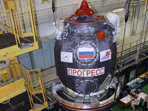 فصل مركبة الشحن الفضائية الروسية