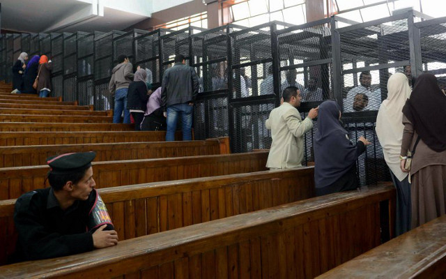محكمة مصرية تقضي بحبس 112 من أنصار الإخوان