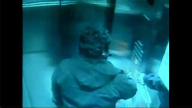 تشيلي.. لحظات رعب داخل المصعد (فيديو)