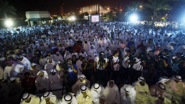 المعارضة الكويتية تحارب الفساد في مظاهرة حاشدة