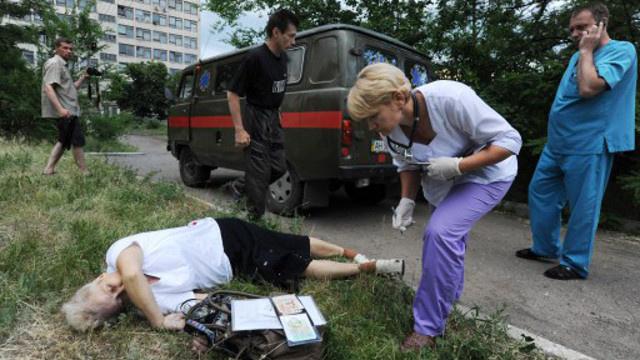 وزارة الصحة الأوكرانية: 210 أشخاص قتلوا أثناء العملية العسكرية شرق البلاد